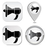 Megaphone icon Royalty Free Stock Image