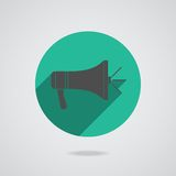 Megaphone icon. Loudspeaker isolated Stock Photo