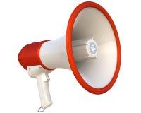 Megaphone isolated on white Stock Photo