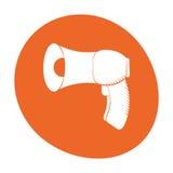 Megaphone loudspeaker sound marketing icon color Stock Photos