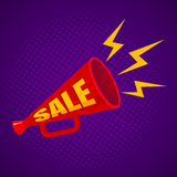 Megaphone for sale Stock Images