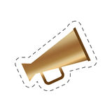 megaphone speak movie image Royalty Free Stock Photos