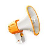 Megaphone vector illustration Stock Images