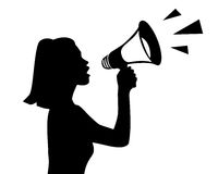 Megaphone Stock Photo