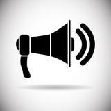 Megaphone Web Icon Loudspeaker Royalty Free Stock Photos