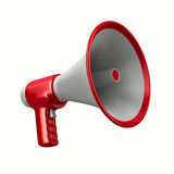 Megaphone on white background Stock Photography
