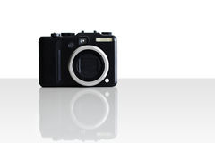 A 10 megapixel camera manufactured in Japan Stock Photo