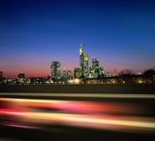 Megapolis de la noche nuevos Imagenes de archivo