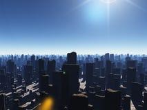 Megapolis ruinés illustration libre de droits