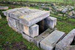 Megara Hyblea - Necropolis Lizenzfreies Stockbild