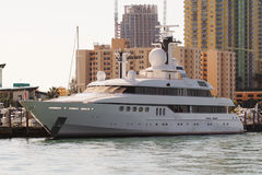 Megayacht Royalty Free Stock Images