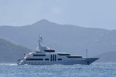 Megayacht Royalty-vrije Stock Afbeelding