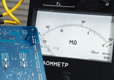 Megger  multimeter Stock Image