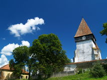 Meghindeal筑了堡垒于教会 库存图片
