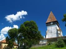 Meghindeal versterkte kerk Stock Afbeeldingen