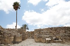Megiddo city gate Royalty Free Stock Image