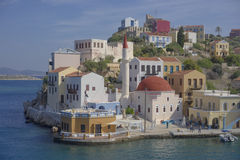 Megisti Greece imagem de stock royalty free