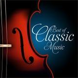 Meglio di musica classica illustrazione vettoriale