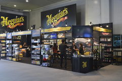 Meguiar's Car Care Products shop of FAST Auto Show Thailand 2016 Stock Photography