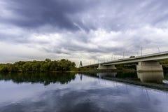Megyeri Bridge Royalty Free Stock Photos