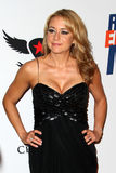 Megyn Price arrives at the 19th Annual Race to Erase MS gala Stock Images