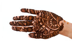 Mehandi Royalty Free Stock Photography