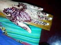 Mehandi. Wedding function cute mehandi Stock Image