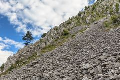 Mehedinti Mountains Royalty Free Stock Images