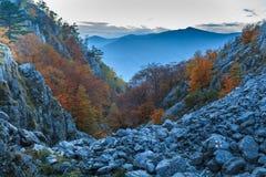 The Mehedinti Mountains Royalty Free Stock Photos