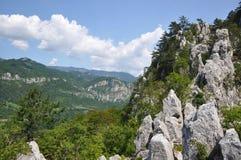 The Mehedinti Mountains, Romania Stock Photos