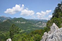The Mehedinti Mountains, Romania Stock Photo