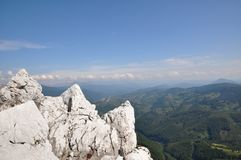 The Mehedinti Mountains, Romania Royalty Free Stock Photo