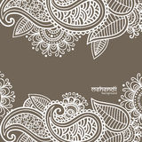 Mehendi abstract background Stock Images