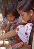 The Mehendi Artist Royalty Free Stock Images