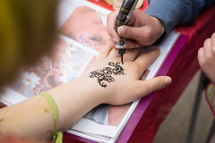Mehendi Royalty Free Stock Photo