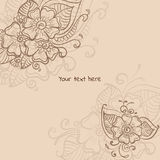 Mehendi background Stock Photography