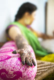 Mehendi or Hena or Hina Royalty Free Stock Images