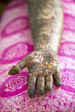 Mehendi or Hena or Hina Stock Photography