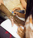 Mehendi Royalty Free Stock Photography