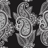 Mehendi seamless background Royalty Free Stock Photo