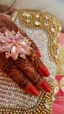 Mehendi-Tradition Stockfotos