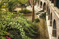 Meherabad, ashram estabelecido por Meher Baba perto da vila de Arangaon, Índia Foto de Stock Royalty Free