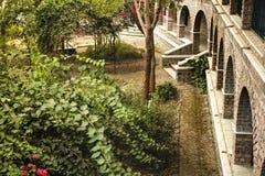 Meherabad, ashram establecido por Meher Baba cerca del pueblo de Arangaon, la India Foto de archivo libre de regalías