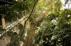 Meherabad, ashram gevestigd door Meher Baba dichtbij Arangaon-Dorp, India royalty-vrije stock fotografie