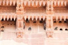 Meherangarh堡垒鸠在乔德普尔城 免版税图库摄影