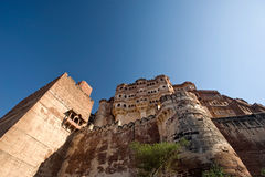 Meherangarh Fort Royalty Free Stock Photo
