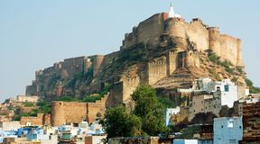 Meherangarh fort Royalty Free Stock Image