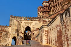 Meherangarh Fort jodhpur Royalty Free Stock Photos