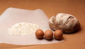 Mehl für Brot Lizenzfreie Stockfotos