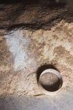 Mehl und das Sieb in der Scheune Stockfotos
